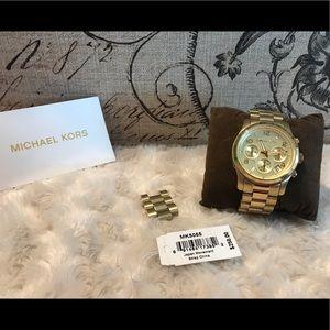 Authentic Michael Kors Watch MK-5550
